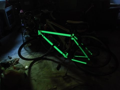 Easy Glow in the dark Bike