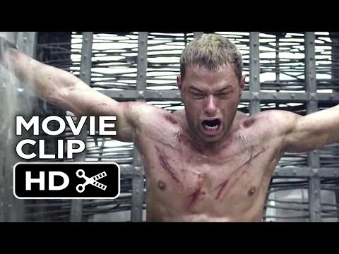 The Legend Of Hercules Movie CLIP - Rock Fight (2014) - Kellan Lutz Movie HD
