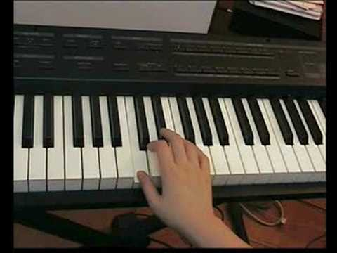 How to play blues piano improvisation (lesson)