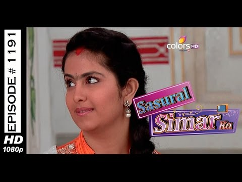 Sasural Simar Ka - 29th May 2015 - ससुराल सीमर का - Full Episode (HD) thumbnail