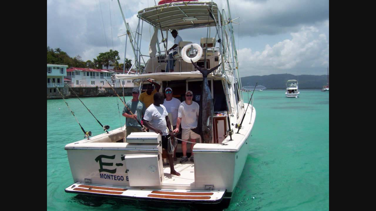 No problem sport fishing montego bay jamaica youtube for Jamaica fishing charters