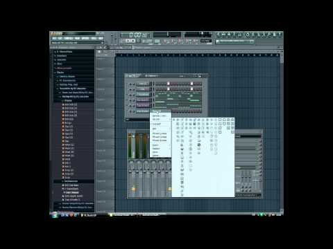 Fl Studio - 10 How To Make A Hiphop   Rap Beat - Tutorial video