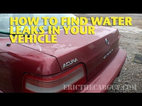 How To Find Water Leaks In Your Vehicle Ericthecarguy