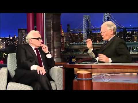 Martin Scorsese Talks The Wolf Of Wall Street And Oscars On David Letterman