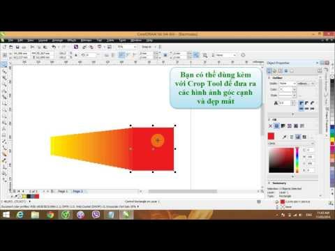[Tutorial] Hướng dẫn làm quen với phần mềm CorelDraw X6