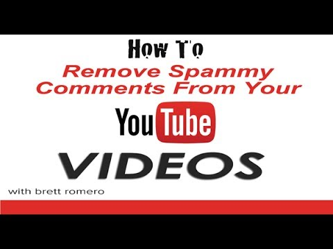 Delete Comments On Youtube: How To Delete Comments On Youtube, Including Spam Or Obscene Comments