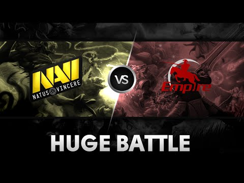 Huge battle by NaVi vs Team Empire Excellent Moscow Cup 2