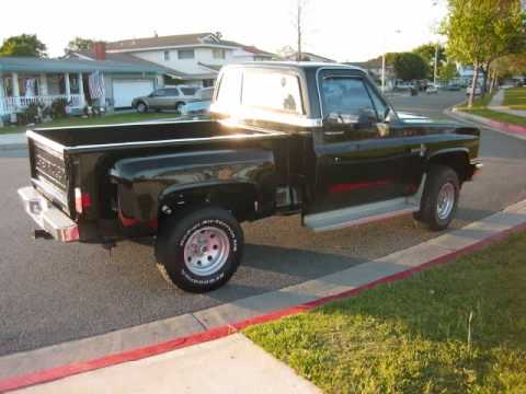 FOR SALE 1985 Chevrolet K10 Silverado 4X4 Pickup