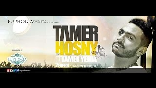 Tamer Hosny live in Vienna - Austria - 24 April / European tour 2015,