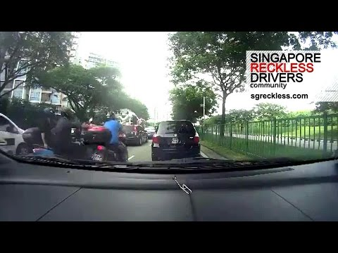 [SRD Community] Tampines Road Motorcycle Lane Split Accident