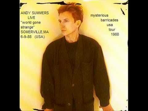ANDY SUMMERS - world gone strange (somerville,ma 6-9-88 USA)