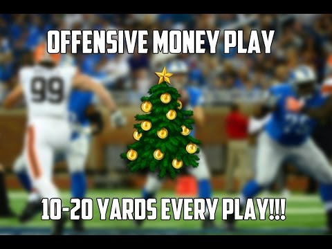 Madden 16: Offensive Money Play! Post Patch Arizona Cardinals Offensive Playbook! POSTS!