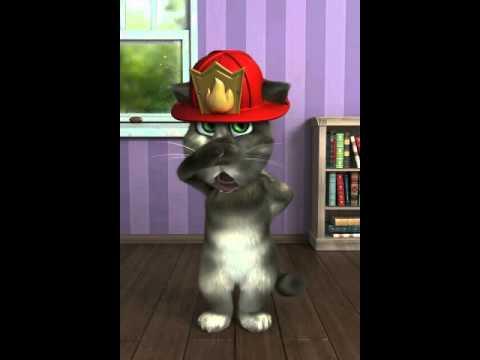 Il Gatto Tom E I Pompieri