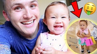 CUTEST 1 YEAR OLD BABY GOES SHOPPING!!!