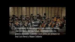 Le Stelle El Espectáculo Demo José Luis Duval Tenor Y Mauro Calderón Tenor