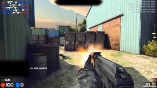 Warmode - /review/ - /ak47/deagle/glock/ map - Ангары