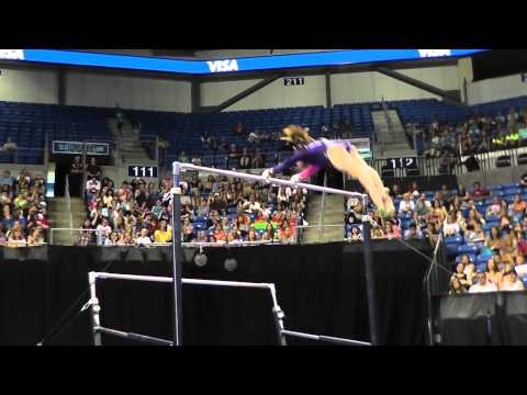Alexis Beucler - Uneven Bars - 2012 Visa Championships - Jr. Women - Day 2