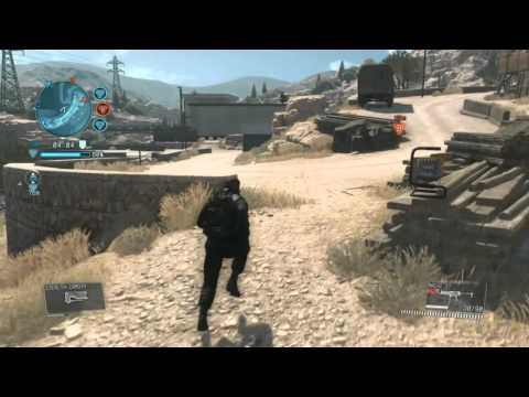 METAL GEAR SOLID V online lag issue