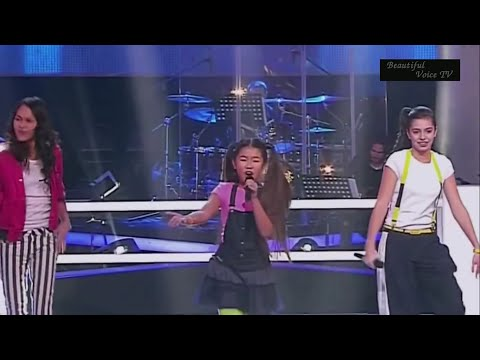Aigul/Polina/Kristina.'Wannabe'.The Voice Kids Russia.