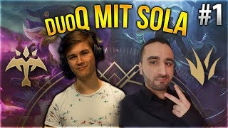 Sola x Silphi Duo Q! #1 [League of Legends] [Deutsch / German]