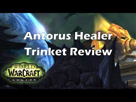 [Legion] Antorus Healer Trinket Review
