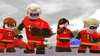 LEGO Os Incríveis #01: Polícia X Heróis