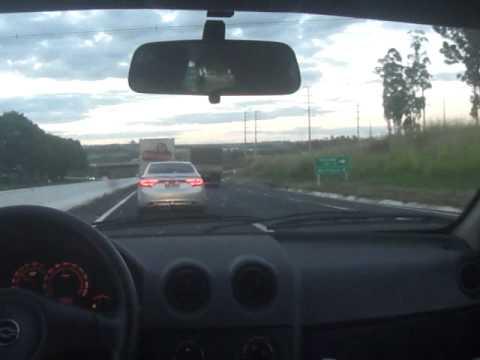 NEW AZERA 2012 BR BRAZIL - accelerating to 240 KM -