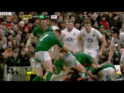 Cian Healy Stamp On Dan Cole