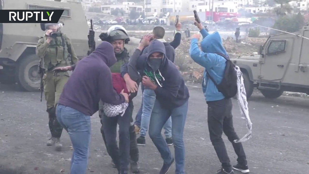 Israeli infiltrators launch surprise attack on Palestinian rally