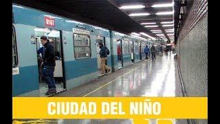 Metro De Santiago   Trenes Alstom por Ciudad Del Ñiño