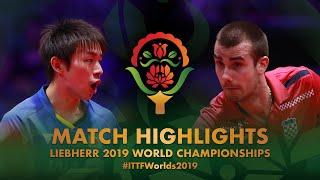 Koki Niwa vs Pucar Tomislav | 2019 World Championships Highlights (R16)