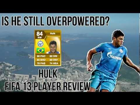 FIFA 13 Ultimate team - Is he still overpowered? - Hulk review and in game stats!
