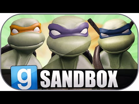 Gmod Sandbox Funny Moments: Michael Bay TMNT Movie Tribute, Best Acting Ever, Fails & Bloopers!