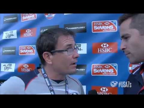 Mike Friday wraps up the Eagles top four finish at USA Sevens