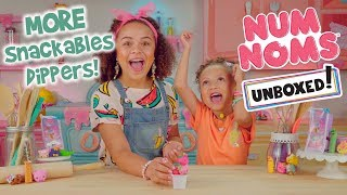 Unboxed! | Num Noms | Season 3 Episode 2: More Snackables Dippers!