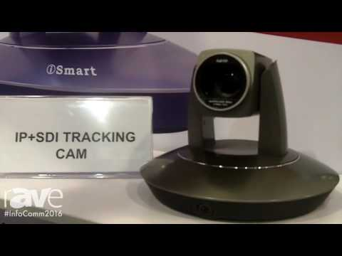 InfoComm 2016: iSmart Video Showcases IP Lecturer Tracking PTZ Camera