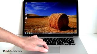 Apple MacBook Pro with Retina Display Running Windows 7
