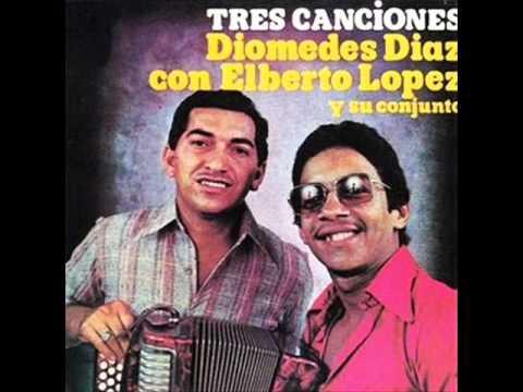 ALBUM TRES CANCIONES DIOMEDES DIAZ Y ALBERTO EL DEBE LOPEZ