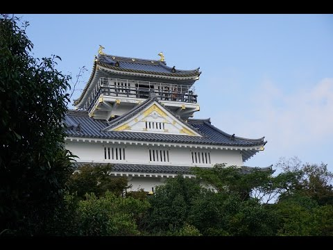 岐阜城  Japan Gifu Castle 【HD】