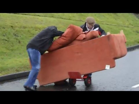 Broken down sofa, Drumquin