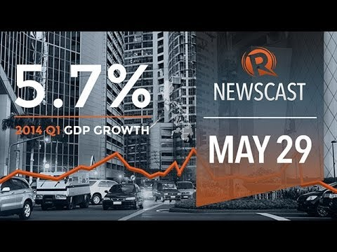 Rappler Newscast: PH economy slowdown, Luy files, MH370 updates