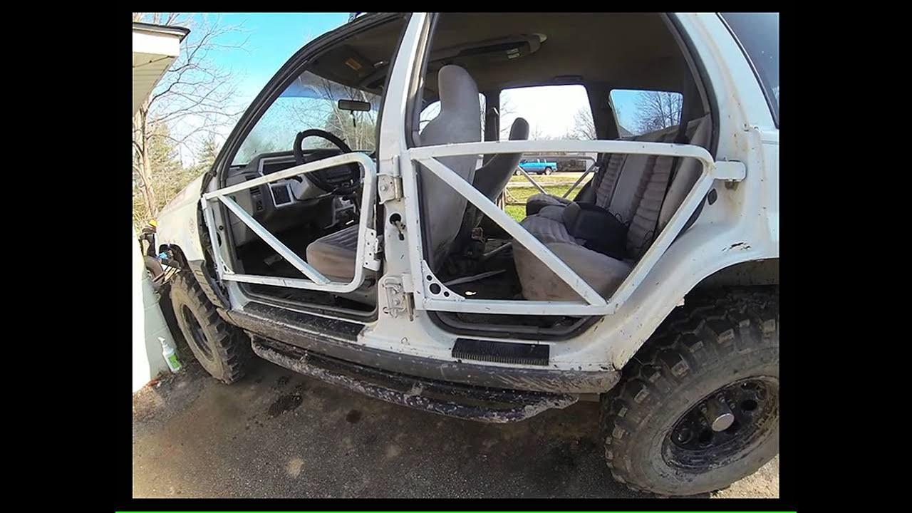 Jeep Zj Grand Cherokee Custom Tube Doors Youtube