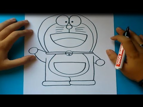 Como dibujar a Doraemon paso a paso Doraemon How to draw Doraemon Doraemon