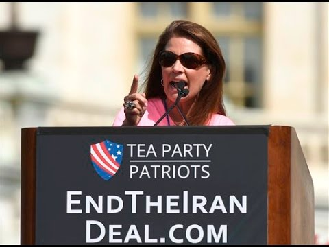 Michelle Bachmann Blasts Iran Nuclear Deal; Supports Donald Trump for President
