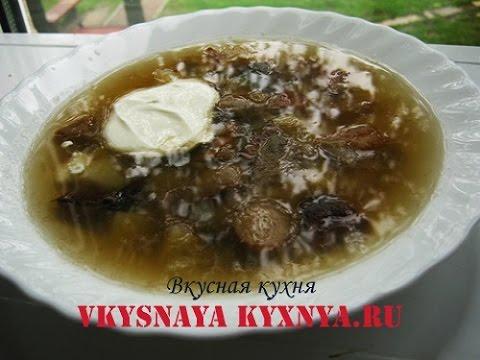 Грибной суп из свежих лесных грибов - простой рецепт приготовления