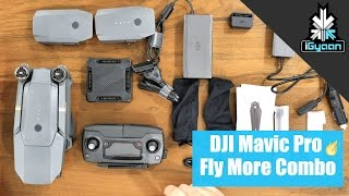 DJI Mavic Pro + Fly More Combo Unboxing and First Flight + Video India