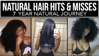 NATURAL HAIR HITS & MISSES : HEAT DAMAGE, HAIR CUTS, GOALS REACHED & LESSONS LEARNED