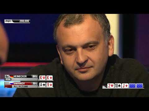 EPT9 - Monte Carlo. Super High Roller. Day-2 (RUS)
