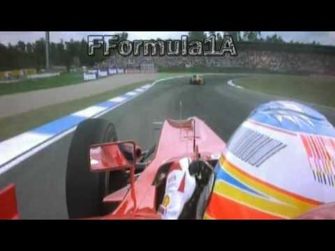Fernando Alonso adelanta a Felipe Massa GP Alemania 2010