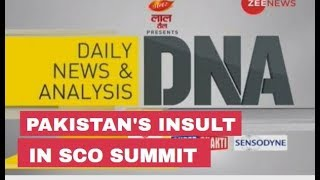 DNA Analysis of Pakistan's insult in SCO Summit